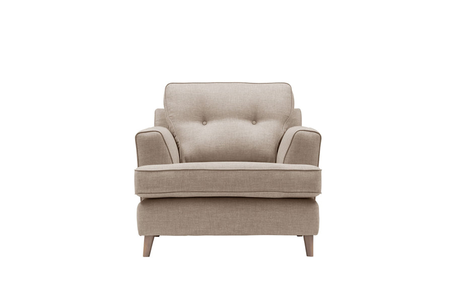 Poppy | Armchair | Linoso Biscuit
