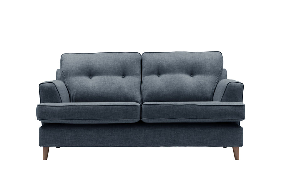Poppy | Midi Sofa | Linoso Midnight