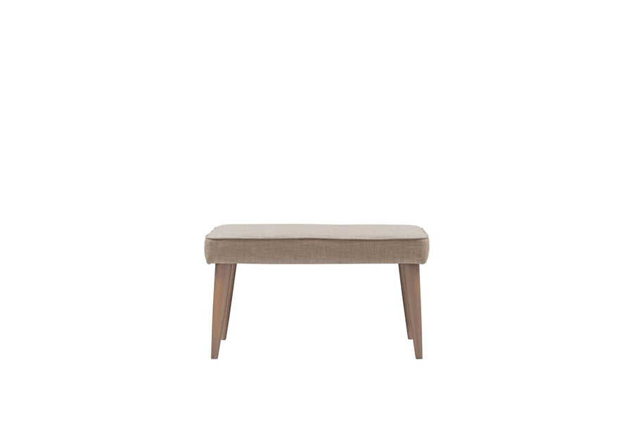 Poppy | Footstool | Linoso Biscuit