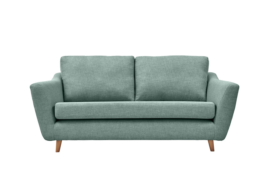 Sophia | 3 Seater Sofa | Linoso Duck Egg