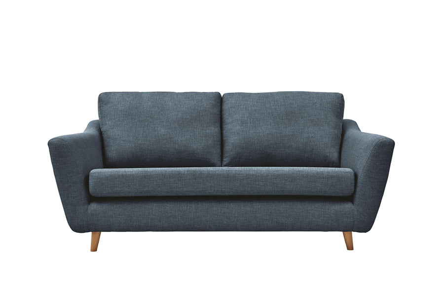 Sophia | 3 Seater Sofa | Linoso Midnight
