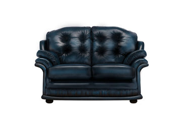 Senator | 2 Seater Sofa | Antique Blue