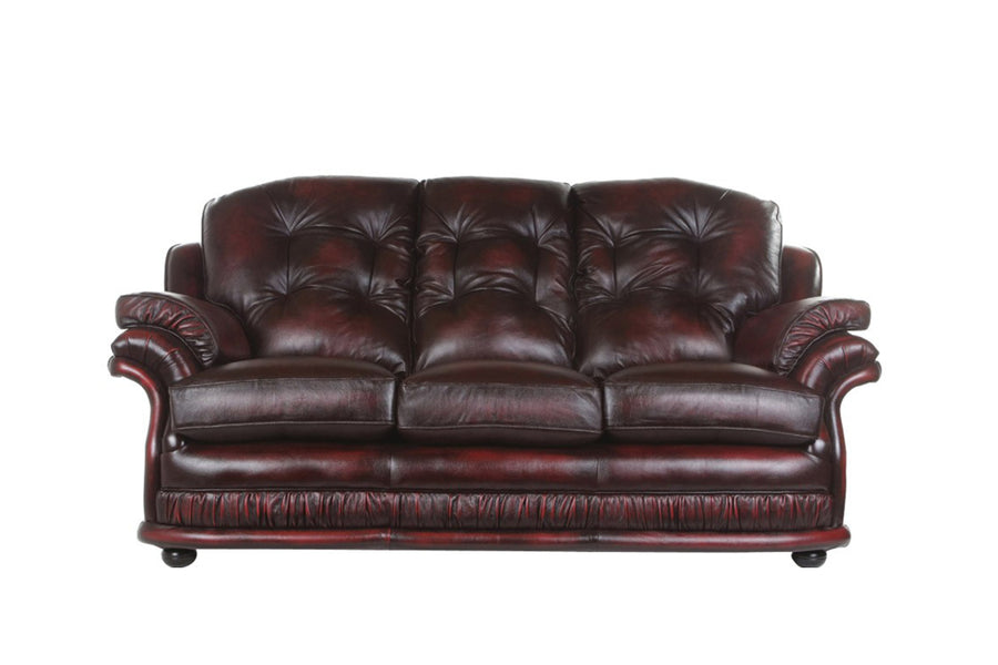 Senator | 3 Seater Sofa | Antique Red
