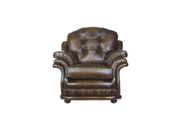 Senator | Highback Chair | Antique Gold