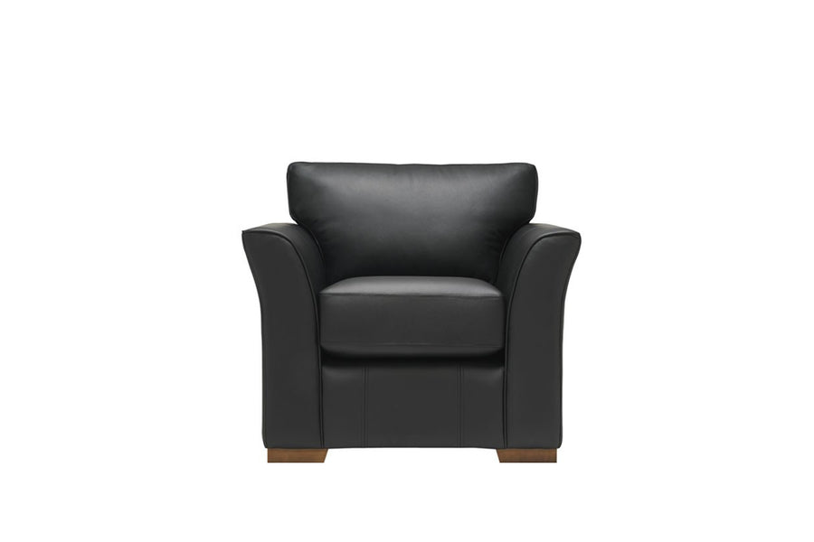 Sienna | Armchair | Softgrain Black