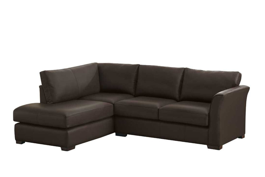 Sienna | Chaise Sofa Option 2 | Softgrain Black