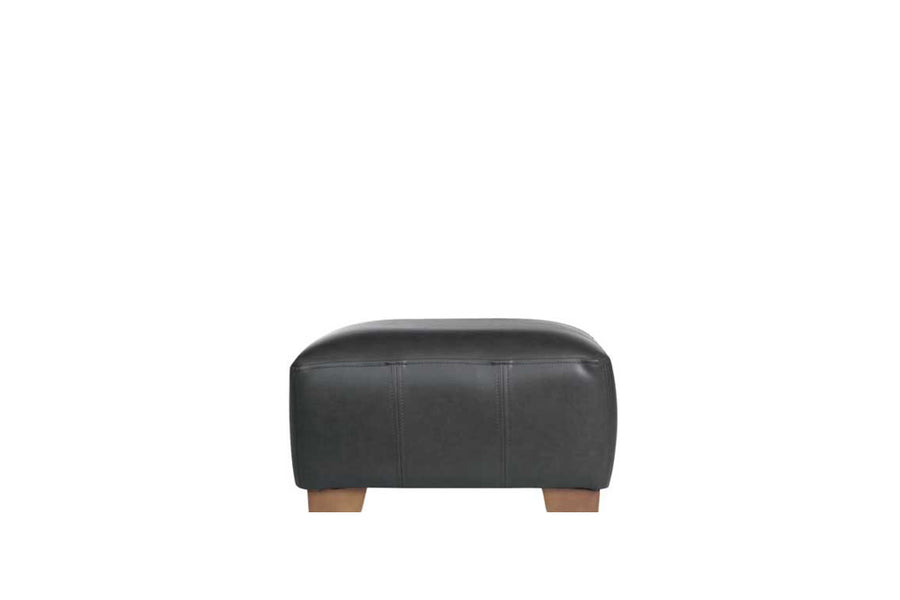 Sienna | Footstool | Softgrain Black