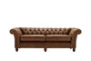 Cambridge | 3 Seater Sofa | Vintage Chestnut