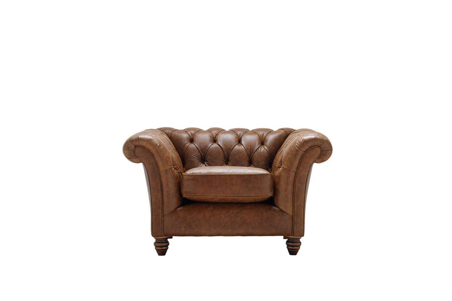 Cambridge | Club Chair | Vintage Chestnut
