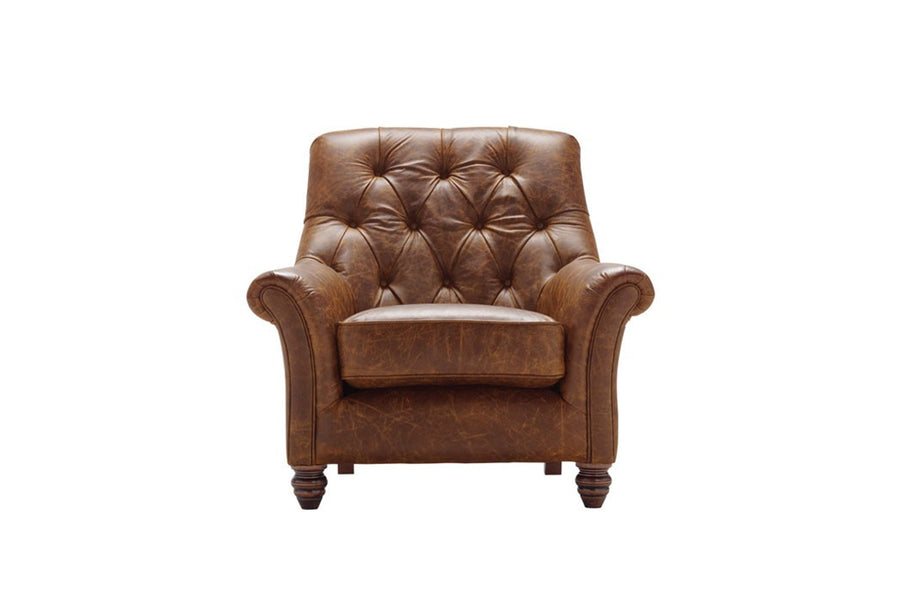 Cambridge | Slipper Chair | Vintage Chestnut