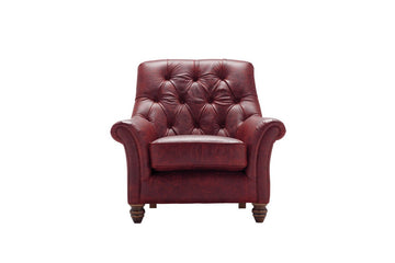 Cambridge | Slipper Chair | Vintage Oxblood