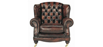Regent | Highback Chair | Antique Brown