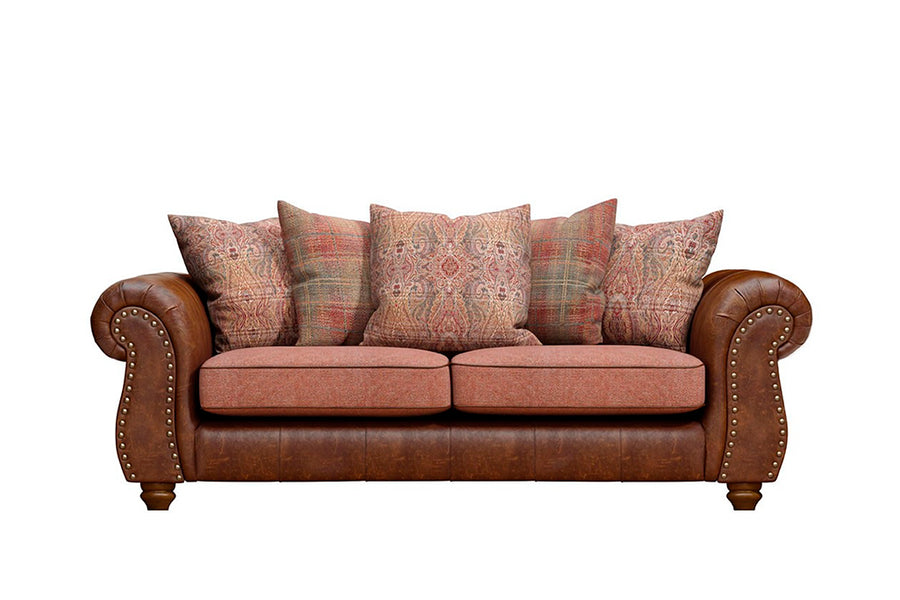 Wilmington | Large Sofa | Vintage Chestnut/Terracotta