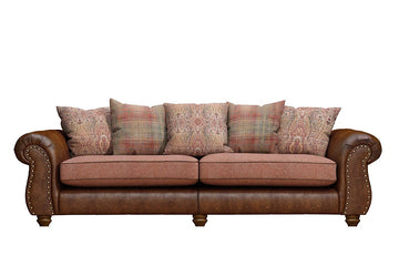 Wilmington | Grand Sofa | Vintage Chestnut/Terracotta