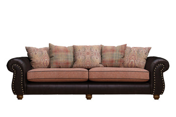Wilmington | Grand Sofa | Vintage Rosewood/Terracotta