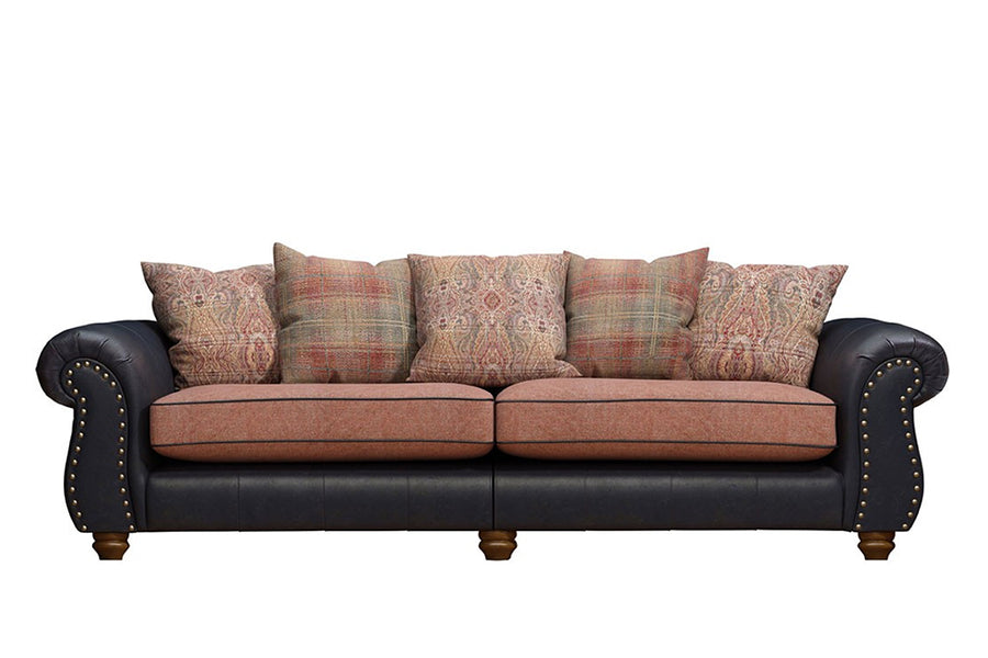 Wilmington | Grand Sofa | Vintage Slate/Terracotta