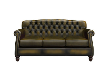 Victoria | 3 Seater Sofa | Antique Gold