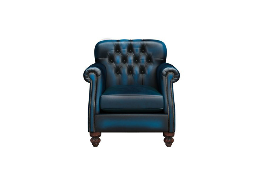 Victoria | Armchair | Antique Blue