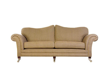 Windsor | 3 Seater Sofa | Anya Gold Stripe