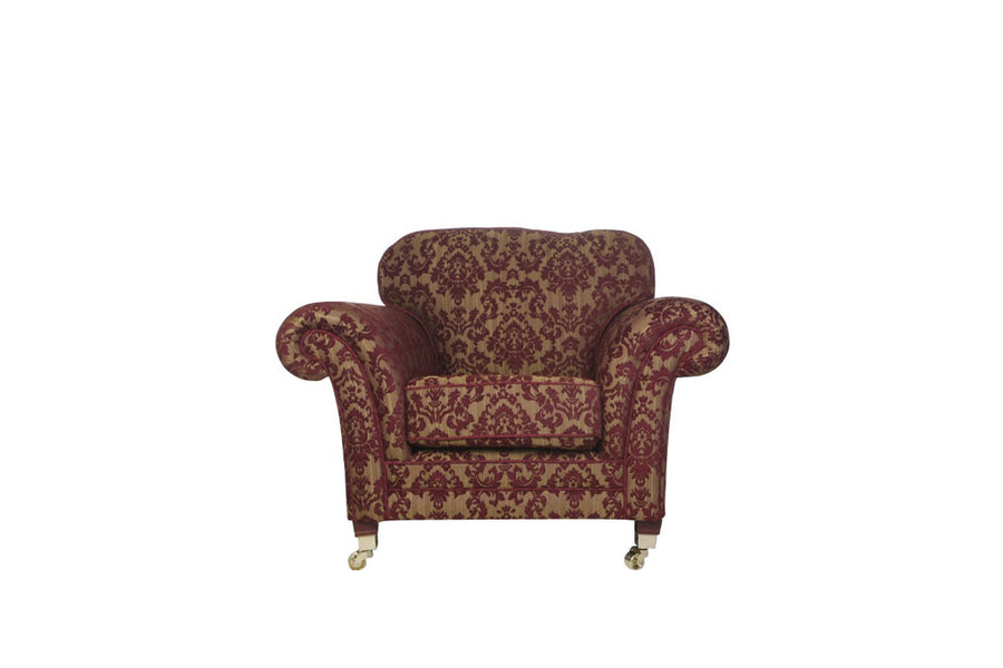 Windsor | Armchair | Anya Burgundy Floral