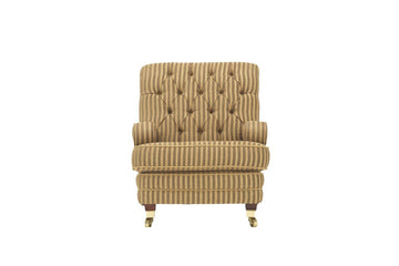 Windsor | Highback Chair | Anya Gold Stripe