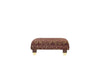 Windsor | Footstool | Anya Burgundy Floral