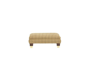 Windsor | Footstool | Anya Gold Stripe