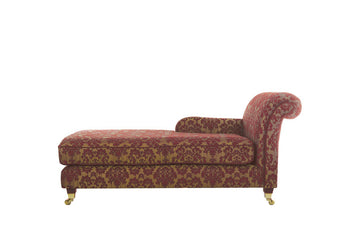 Windsor | Chaise Option 1 | Anya Burgundy Floral