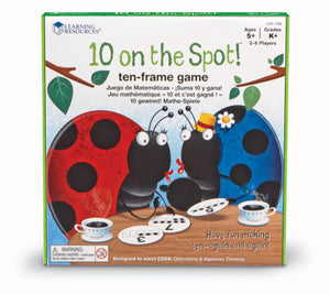 10 on the spot! Tiervenn brettspill | Learning Resources