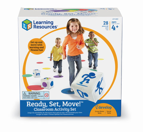 Ready, Set, Move - bevegelsesspill | Learning Resources