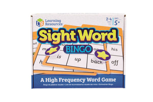 Sight Words Bingo | Learning Resources
