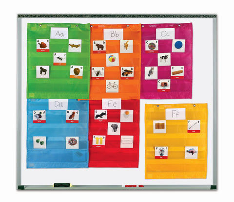 Pocket charts, 6pk små | Learning Resources
