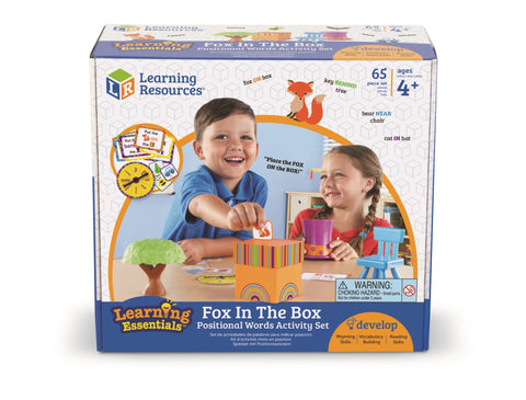 Preposisjoner spill - Fox In The Box | Learning Resources