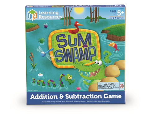 Sum Swamp - addisjon og subtraksjon - spill | Learning Resources