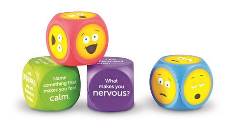 Emoji cubes | Learning Resources