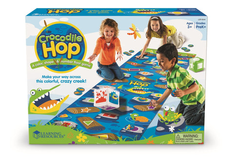 Crocodile Hop - tidlig matematikk | Learning Resources