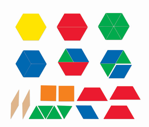 Pattern Blocks - store magneter | Learning Resources