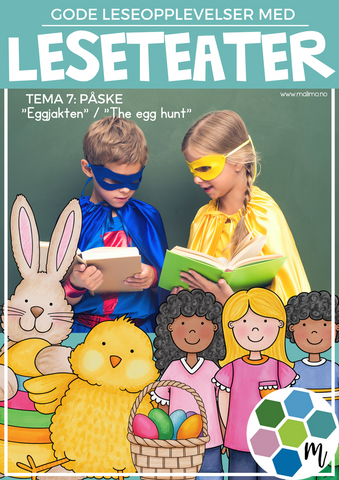 "LESETEATER 7: Påske- ""Eggjakten"" / ""The egg hunt"""