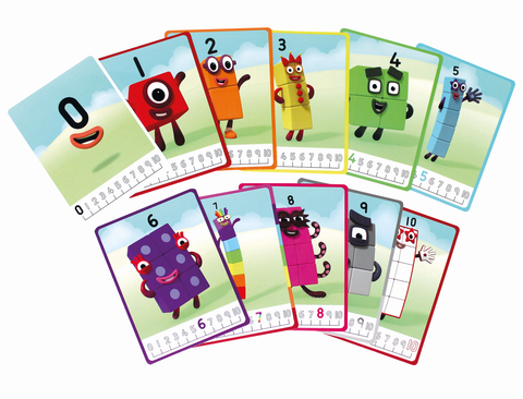 Mathlink Cubes Numberblocks 1-10 Activity Set | Learning Resources