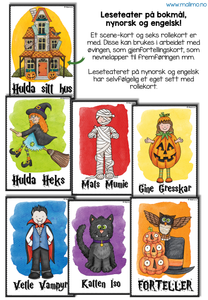 "LESETEATER 1: Halloween - ""Den gode heksen"" / ""The good witch"""