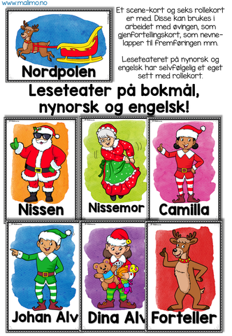 "LESETEATER 2: Jul - ""Den forsvunne julefølelsen"" / ""Losing the Christmas spirit"""