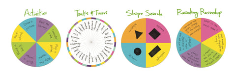 Magnetisk spinner - stor | Learning Resources