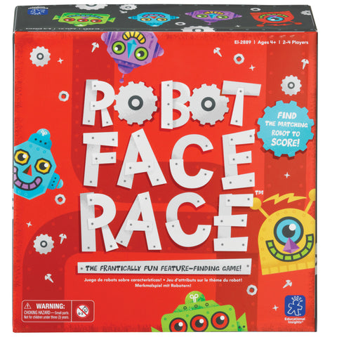Robot Face Race - spill | Learning Resources
