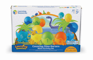 Dino-matte - telling, sortering mm | Learning Resources