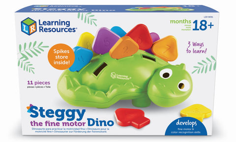 Steggy - dinosaur til finmotorisk trening | Learning Resources