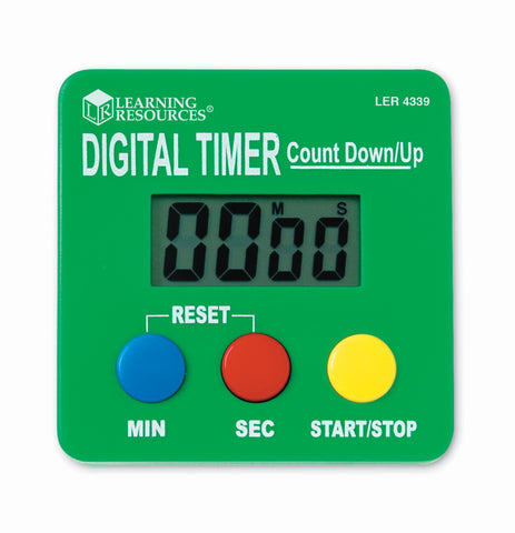 Digital timer | Learning Resources