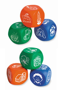 Story Cubes 6pk | Learning Resources