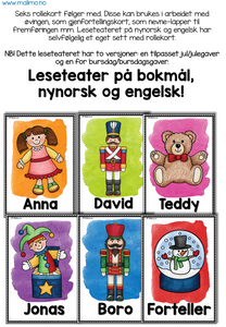 "LESETEATER 3: Jul/bursdag - ""Den nye leken"" / ""The new toy"""