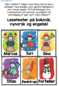 "LESETEATER 4: Vinter 1 - ""En dag i snøen"" / ""A Day in the Snow"""