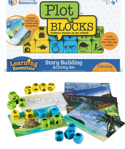 Plot Blocks pakke med 18 | Learning Resources